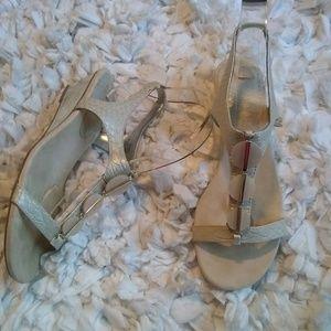 Ann Klein Gold Sandals